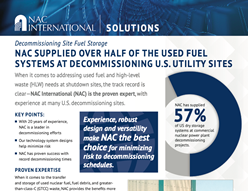 NAC Solutions Decommissioning 2019
